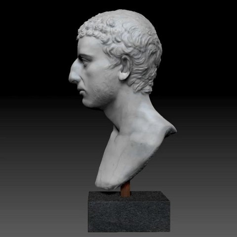 Roman bust (Israel) said to be of Josephus Flavius