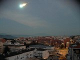 Bolide of September 7th, 2014 over Blanes, Spain.