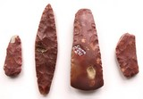 tools of red flint from Heligoland